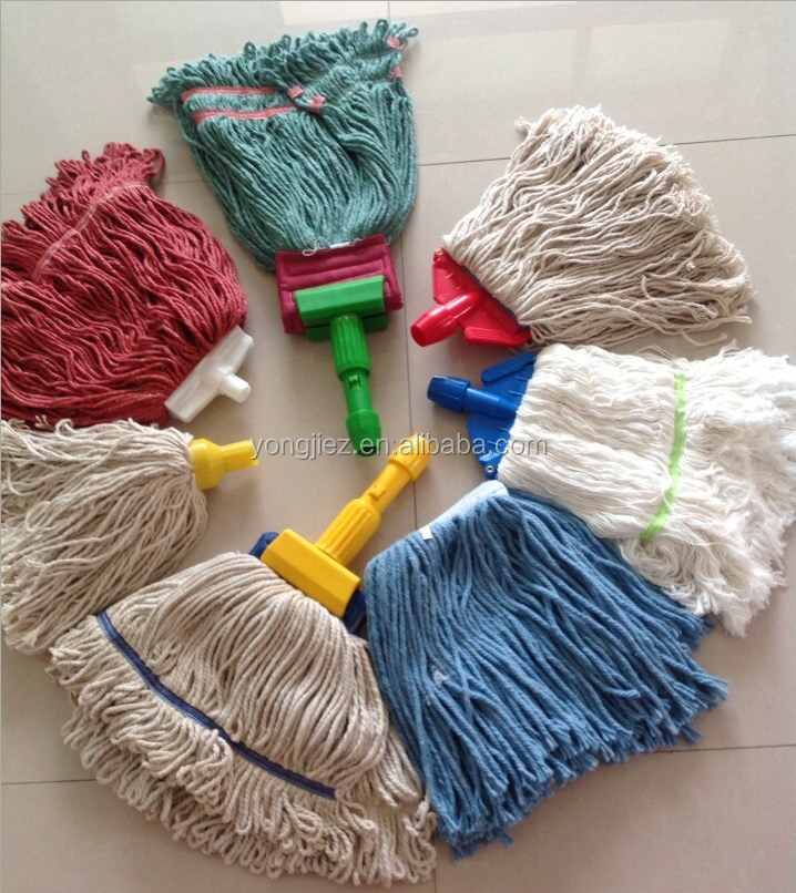 Wet mop head household cleaning