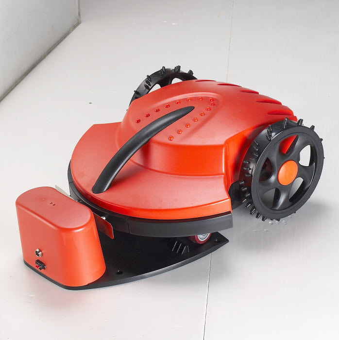 robot lawn mower, CE RoHS approved, lead-acid battery, intelligent garden tool