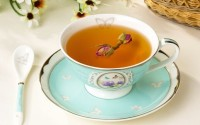Elegant top design tea cup and saucer wholesale
