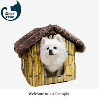 Direct factory price export quality hostel fur dog house dog cage pet house