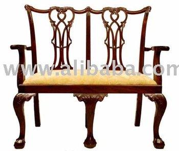 Chippendale silla doble buy silla comedor de caoba - Sillas chippendale ...