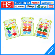 wholesale l stationery animal shape wax crayon for teenagers