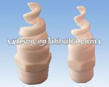 Teflon(F4) /Ceramic desulfurization cooling tower spiral cone/flat fan spray nozzle
