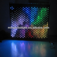 RGBW video led curtain p5 p9 p16 p20 p6 led screen