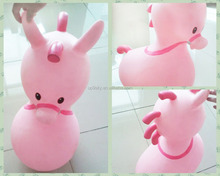 Cute Inflatable hippocampus Inflatable Bouncing Animal Toys, Inflatable Jumping Animal for Kids