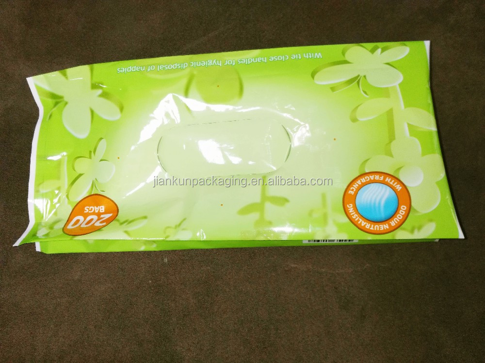 4 side sealed laminated material plastic food bag with window
