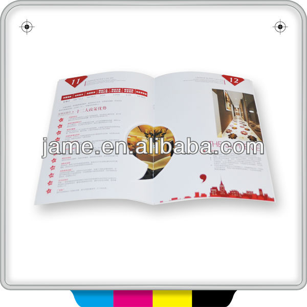 2014 CMYK oversea fashion style food magazine printing servieces on demand