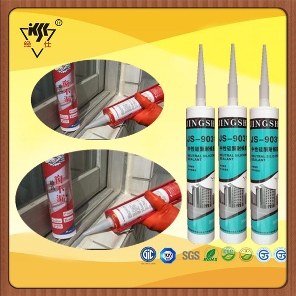 Weather Silicone Rubber Bonding Adhesive For Aluminium Corner