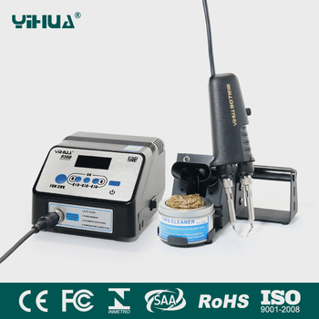 YIHUA938D smd hot tweezers desoldering soldering station