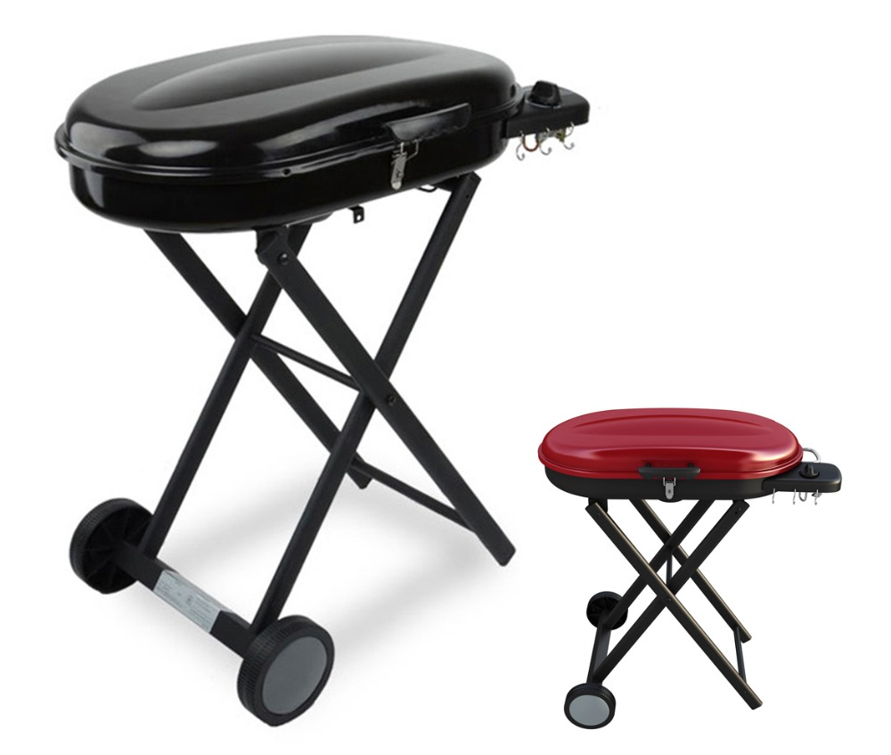 propane gas bbq barbecue grill portable foldable for. Black Bedroom Furniture Sets. Home Design Ideas