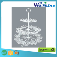 Wholesale Metal Christmas Cupcake Dessert Stand Party Decoration