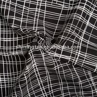 check cotton poplin fabric