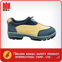 SLS-2013J Cowgrain Leather Safety shoes