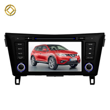 2GB RAM Android 7.1 Gps navigation Car dvd player For X-Trail Qashqai 2014-2016 BT Radio WIFI DAB+ TPMS