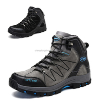 New design high top men hiking boots china supplier footwear factory