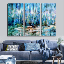 Scenery Oil Painting Hand Painted Home Decor Wall Art Pictures,mediterranean Landscape Oil Painting on Canvas