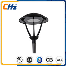 Round black IP66 led garden light 35W with CE ROHS listed
