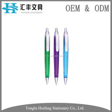 custom made black gel parker plastic disposable ballpoint pen