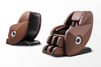 Advanced Vibration Reclining Foot Roller Massage Chair for Healthy Care