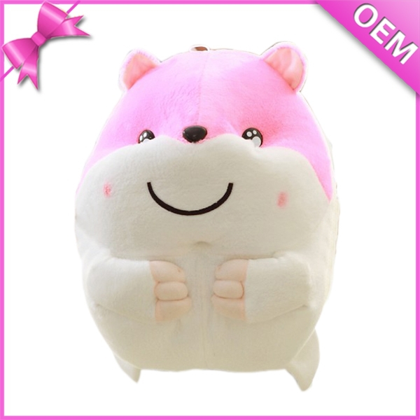 promotional gift child stuffed hamster toy plush animal x hamster