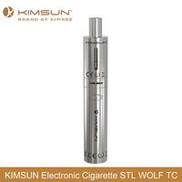 2016 Newest STL WOLF TC Electronic Cigarette Tube Mod with Smart Temperature Control