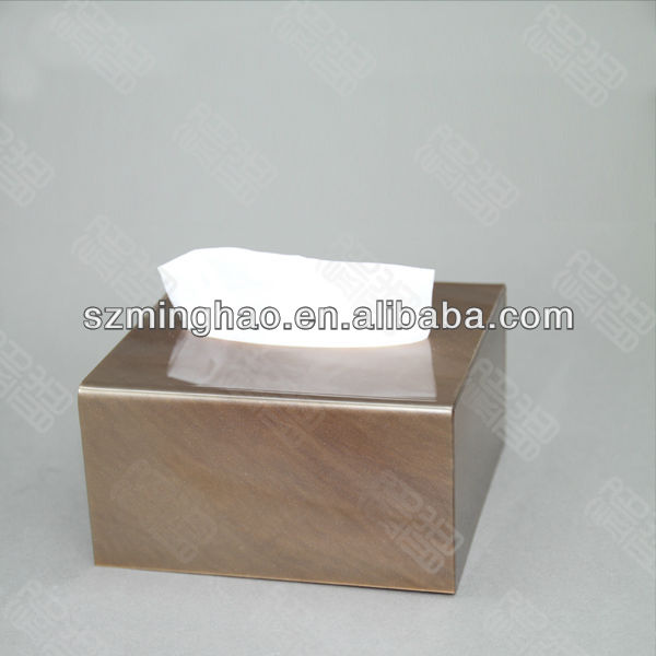 square acrylic napkin/tissue display box