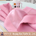 Baby Pink Embossed Style Polyester Blackout Bedding Fabric