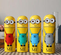 Fashion Smart Minions Despicable Me Water Bottle /Hot Cartoon Minion Promotional Water Bottle