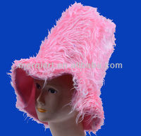 2013 new fashion pink carnival hat party top hat