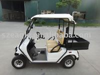 Neighborhood Utility vehicle EG2028HR-02(48V/5.3KW), EEC homologated electric golf utility car with cargo bed, 2 seats