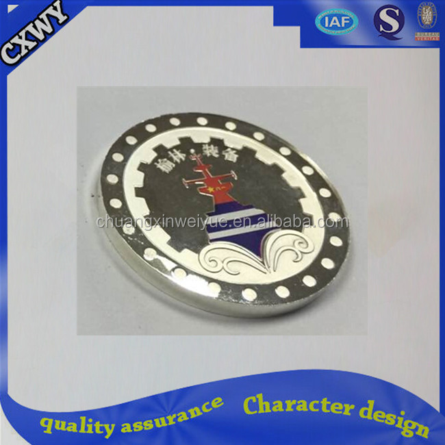 Custom silver coin,high quality 999 pure silver coin