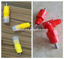 2015 hot slae HB cone or ball nipple drinker for chicken and duck in poultry farm house