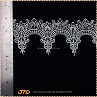 New Arrival Latest Design Fashion Handmade French Lace Curtains