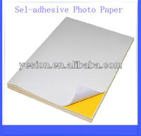 Self-adhesive glossy paper 115/80g,A4/Letter