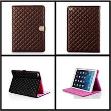 Cheap Smart Case For iPad Air iPad 5 with Stand+Rhinestone Flip Book Cover Leather Tablet Case Luxury Fashion