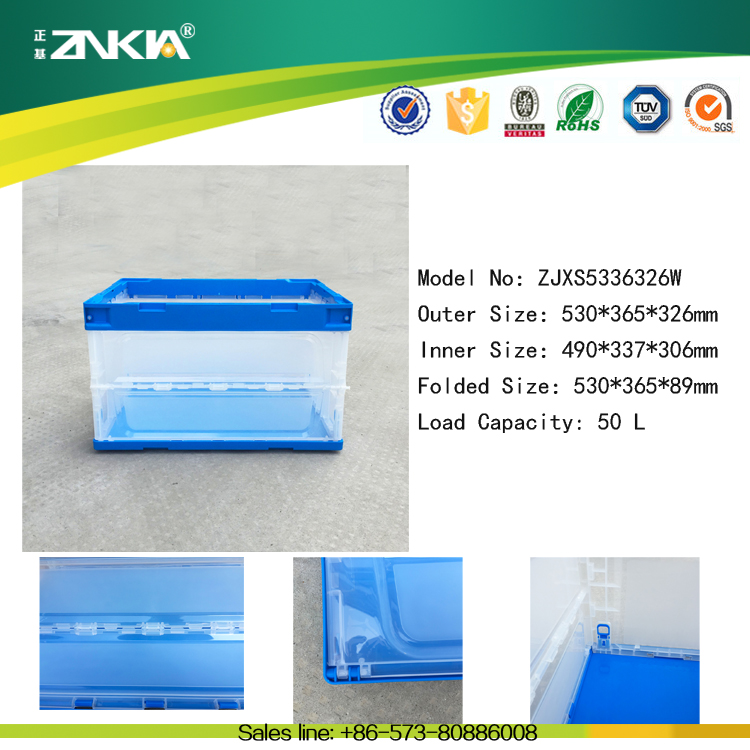 Export popular used plastic crate mould