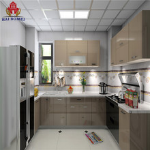 New design of painting mdf kitchen cabinets