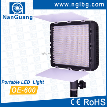 OEM economical LED video light 600 LED daylight 5600K OE-600