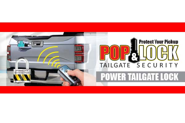 Power Tailgate Security Lock For Hilux VIGO 2005-2014