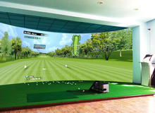 High Quality Golf Simulator For Golf Driving Range