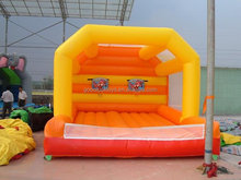 inflatable advertising castle bounce, Inflatable Bouncing Castle with Slide/trampoline park Basketball Games