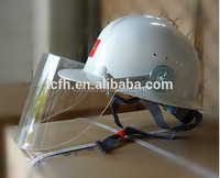 FRP Safety Helmet with Long Brim