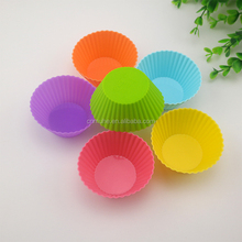 novelty silicone ball cake molds/cupcake carrier
