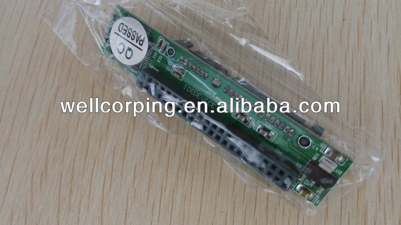 2.5' ide to sata 44pin adapter jm20330 adapter laptop ide to sata converter