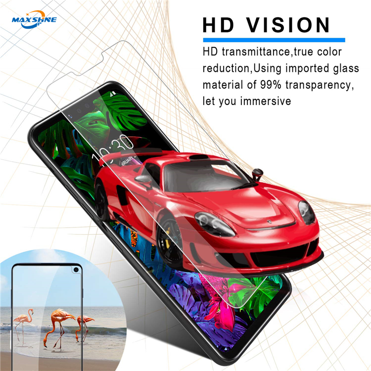 Glass Tempered Screen Protector 2.5D For Lg G8 , Clear Tempered Glass Screen Protector For Lg G8