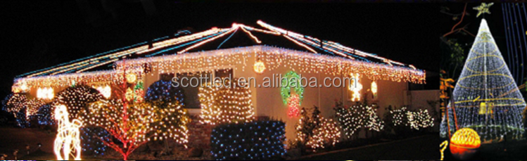 Holiday decoration programmable C9 WS2811 12V addressable led string christmas C7/G40/D24/G27 pixel lighting Sets