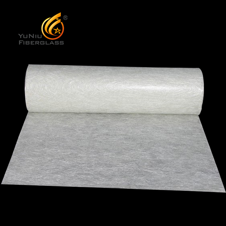Yuniu <strong>supply</strong> High tensile E-glass fibre glass mat with low price