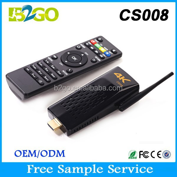 New Style CS008 iptv box GPU Mali-T764 2g 8g Android HDMI TV Stick