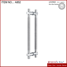 Tempered Glass front door handles