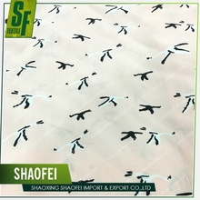 Bird Pattern New Design Hot Sale Printing Viscose 100 Percent Rayon fabric For Dress Sarong Kaftan Kurti T-shirt